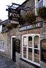 The Fox Inn pub at Corfe Castle Village Dorset