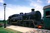 Steam locomotive at Harmans Cross Station Dorset