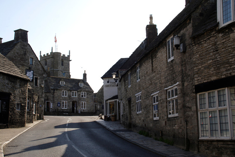 Corfe Castle Village Dorset