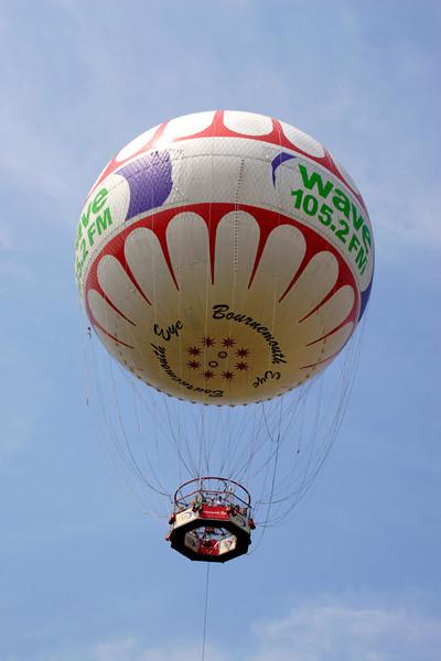 Balloon over Bournemouth Central Gardens