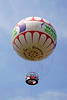 Balloon over Bournemouth Central Gardens