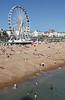 Brighton Beach and the Brighton Wheel Sussex