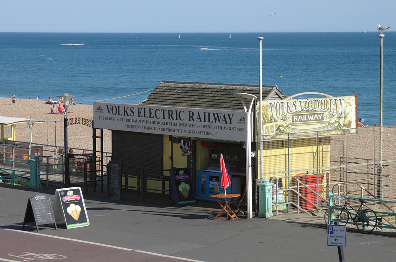 Volks Electric Railway at Brighton Sussex