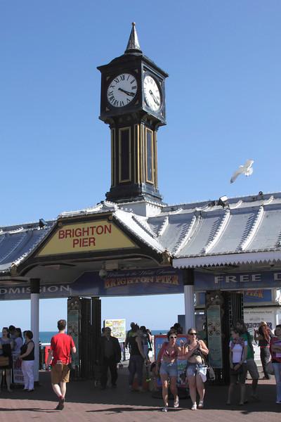 Entrance to Brighton Pier Sussex