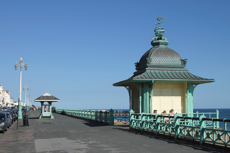 Elevator from Marine Parade to Madeira Drive at seafront Brighton