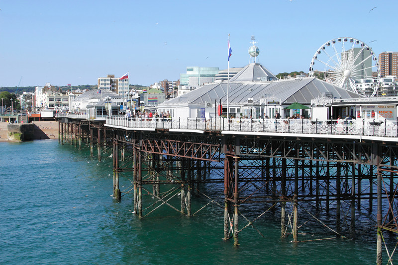 Brighton Pier view towards the seafront
