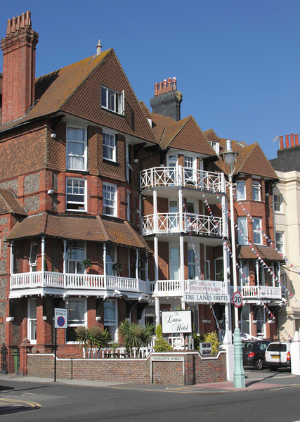 The Lanes Hotel on Marine Parade at Brighton seafront Sussex
