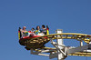 Crazy Mouse Roller Coaster on Brighton Pier Sussex