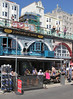 Fortune of War Pub at Brighton seafront Sussex