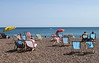 Deck chairs at Brighton Beach Sussex