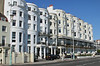 Townhouses on Marine Parade Brighton Sussex