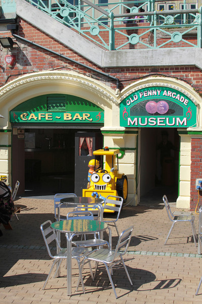 Old Penny Arcade Museum Brighton Sussex