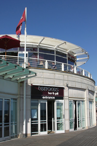 Terraces Bar and Grill at Brighton seafront Sussex