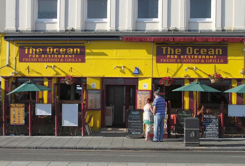 The Ocean pub restaurant at Brighton seafront Sussex