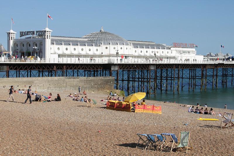 Brighton Pier and Beach Sussex