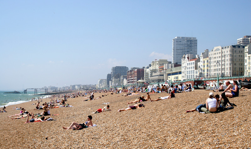 Beach at Brighton