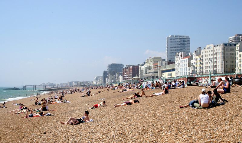 Beach at Brighton