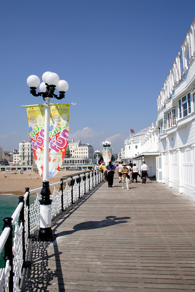 On the Palace Pier Brighton