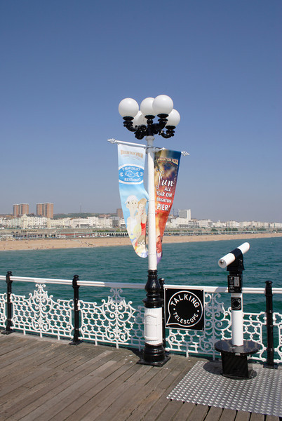View from the Palace Pier Brighton