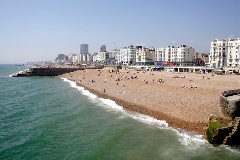 Brighton beach Sussex