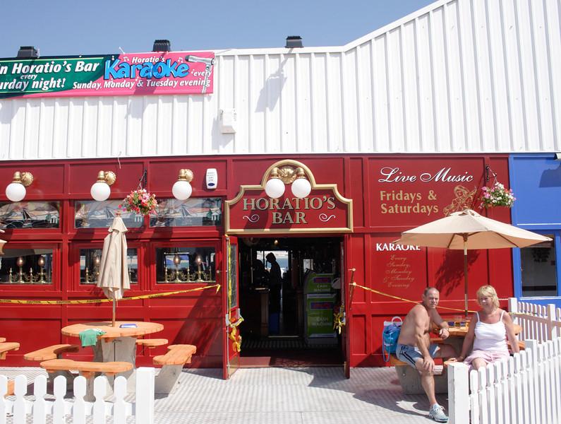 Horatio s Bar on the Palace Pier Brighton