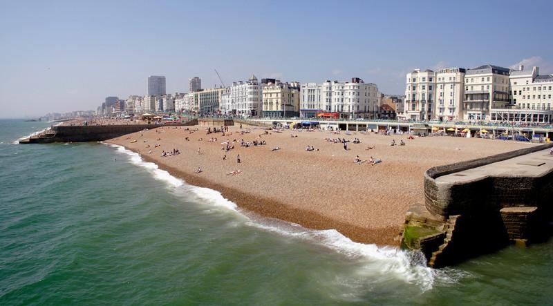 Brighton beach Sussex 2005