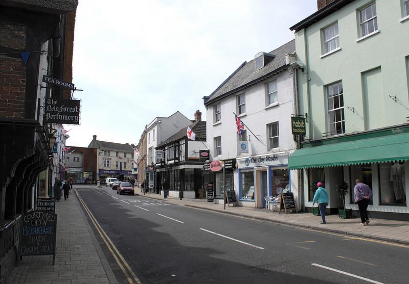 Castle Street Christchurch Dorset
