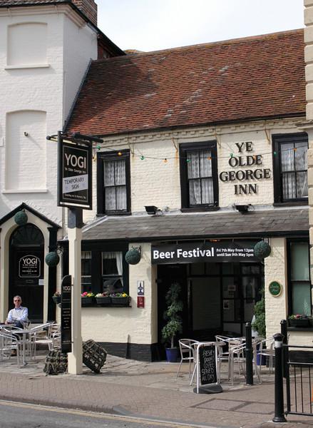 Ye Olde George Inn Pub Christchurch Dorset