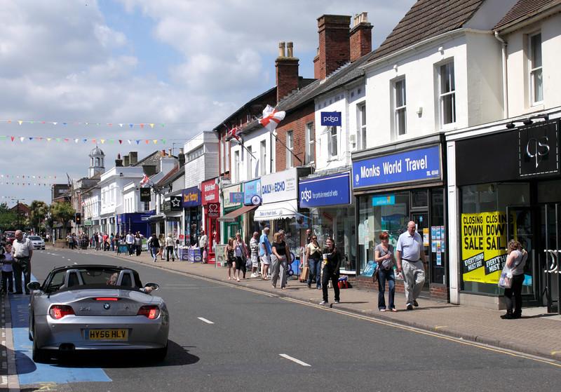 High Street Christchurch Dorset June 2010