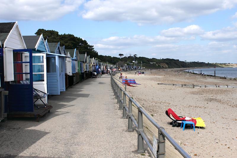 Beach huts Avon Beach Christchurch Dorset