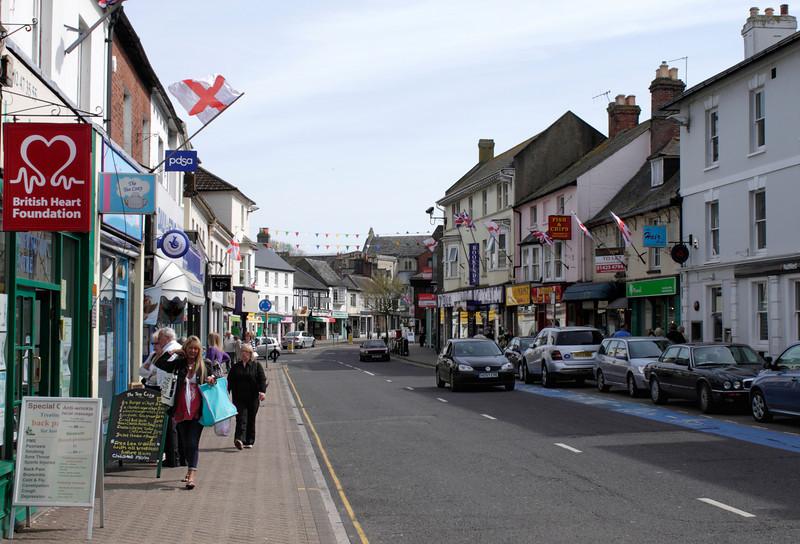 High Street Christchurch Dorset April 2010
