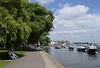 Footpath Christchurch Quay Dorset