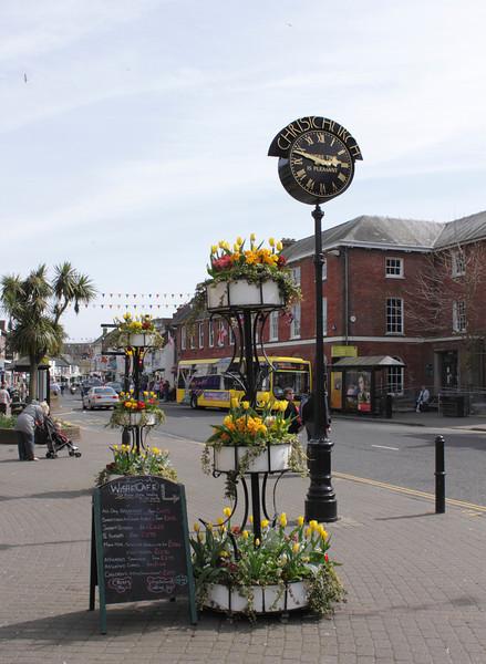 Town Clock High Street Christchurch Dorset