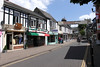 Church Street shops Christchurch Dorset UK June 2010