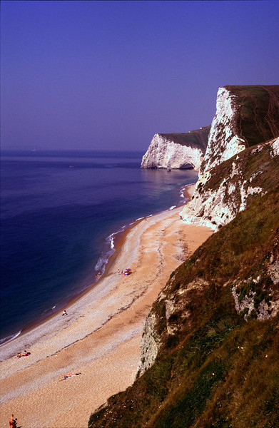 Coastline near Durdle Door Dorset