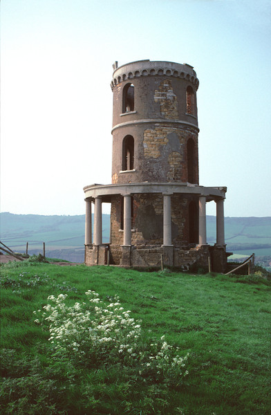 Clavell Tower Kimmeridge Bay Dorset