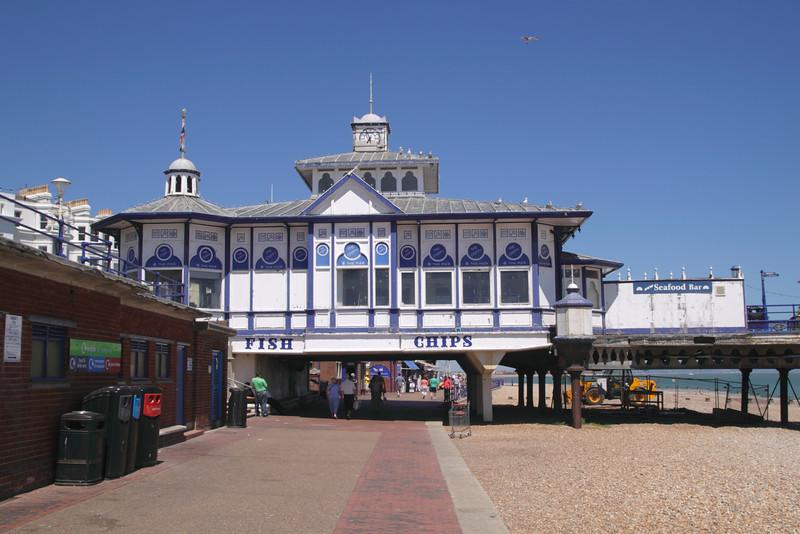 Entrance Eastbourne Pier East Sussex England