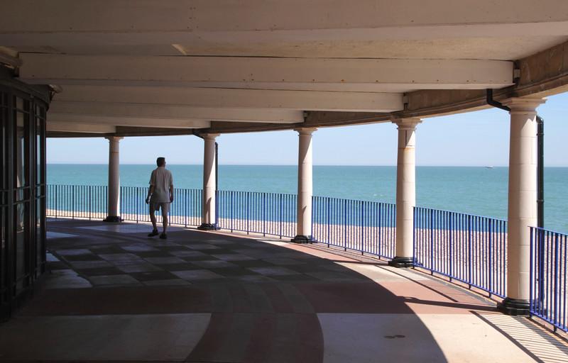 Eastbourne bandstand building East Sussex England