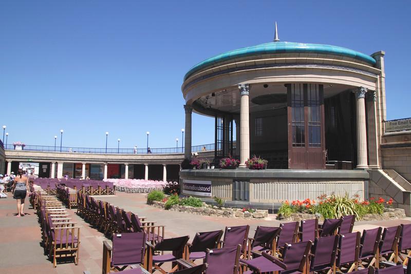 Eastbourne bandstand East Sussex England