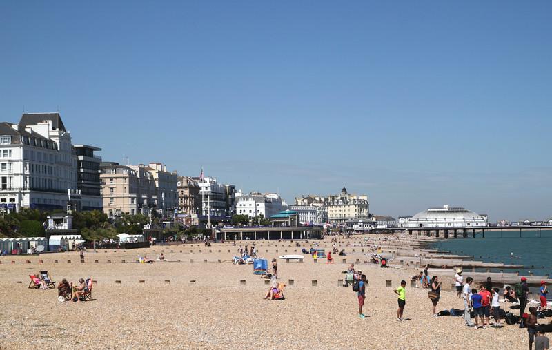 Eastbourne beach  East Sussex England