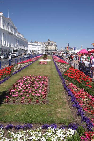 Carpet Gardens Grand Parade Eastbourne East Sussex England