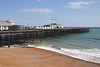 Hastings Pier East Sussex coast summer 2018