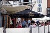 Ship Inn pub at Lymington harbour Hampshire September 2009