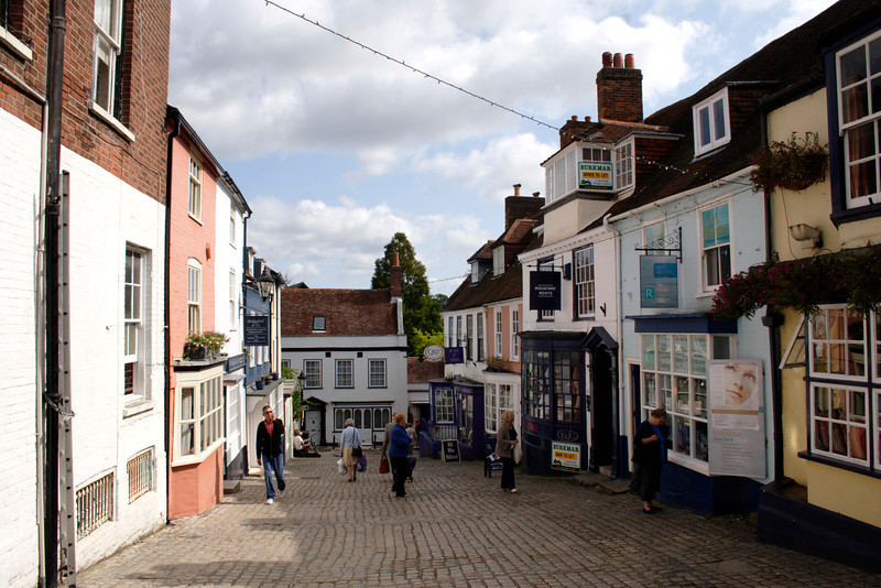 Quay Street Lymington Hampshire