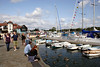 Marina at Lymington harbour Hampshire