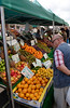 Fruit stall in Lymington High Street Hampshire