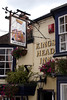 Kings Head Inn pub at Lymington Hampshire