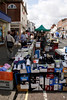 Street Market at High Street Lymington Hampshire