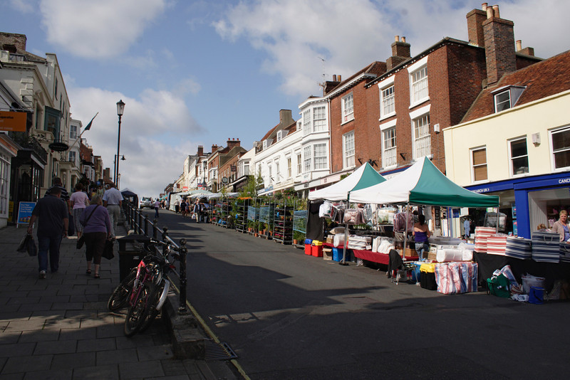 High Street Lymington Hampshire