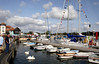 Marina at Lymington harbour Hampshire